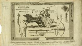Thumbnail image of Print 'An exact representation of a curious collection of remarkable weapons and instruments of war'