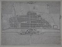 Thumbnail image of Print Engraving:  'A Plan for rebuilding the City of London after the Great Fire in 1666.'