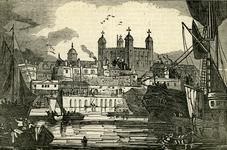 Thumbnail image of Print View of the Tower of London from the Thames.