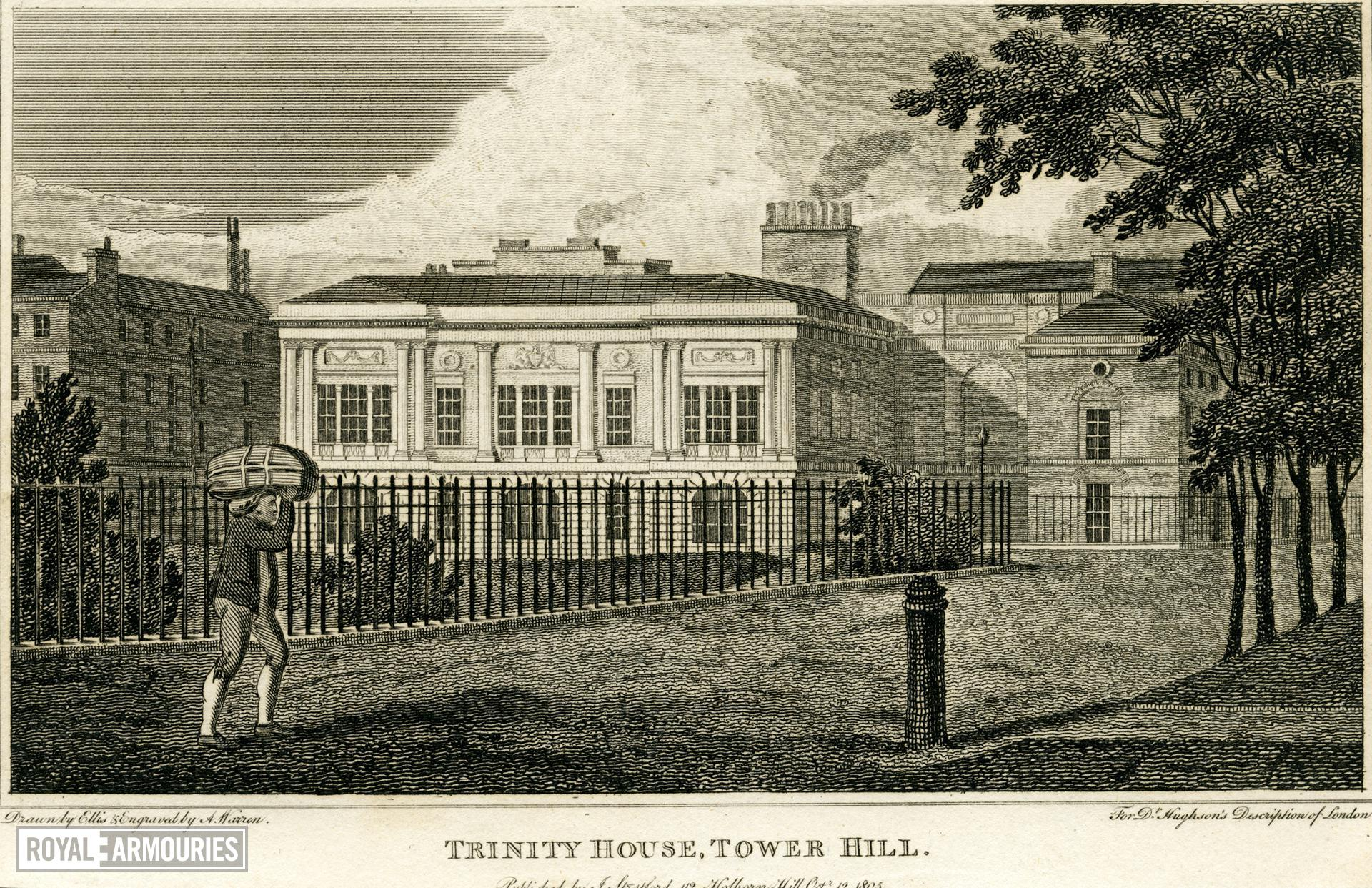Print 'Trinity House, Tower Hill'