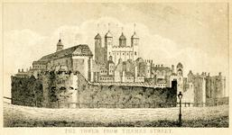 Thumbnail image of Print 'The Tower from Thames Street', about 1805.