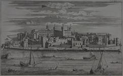 Thumbnail image of Print 'The Tower of London', about 1720
