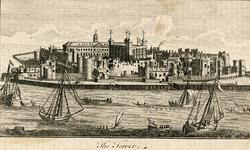 Thumbnail image of Print 'The Tower', from the river.