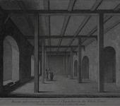 Thumbnail image of Print 'Room adjoining the Council Chamber in the White Tower', Tower of London, about 1820.