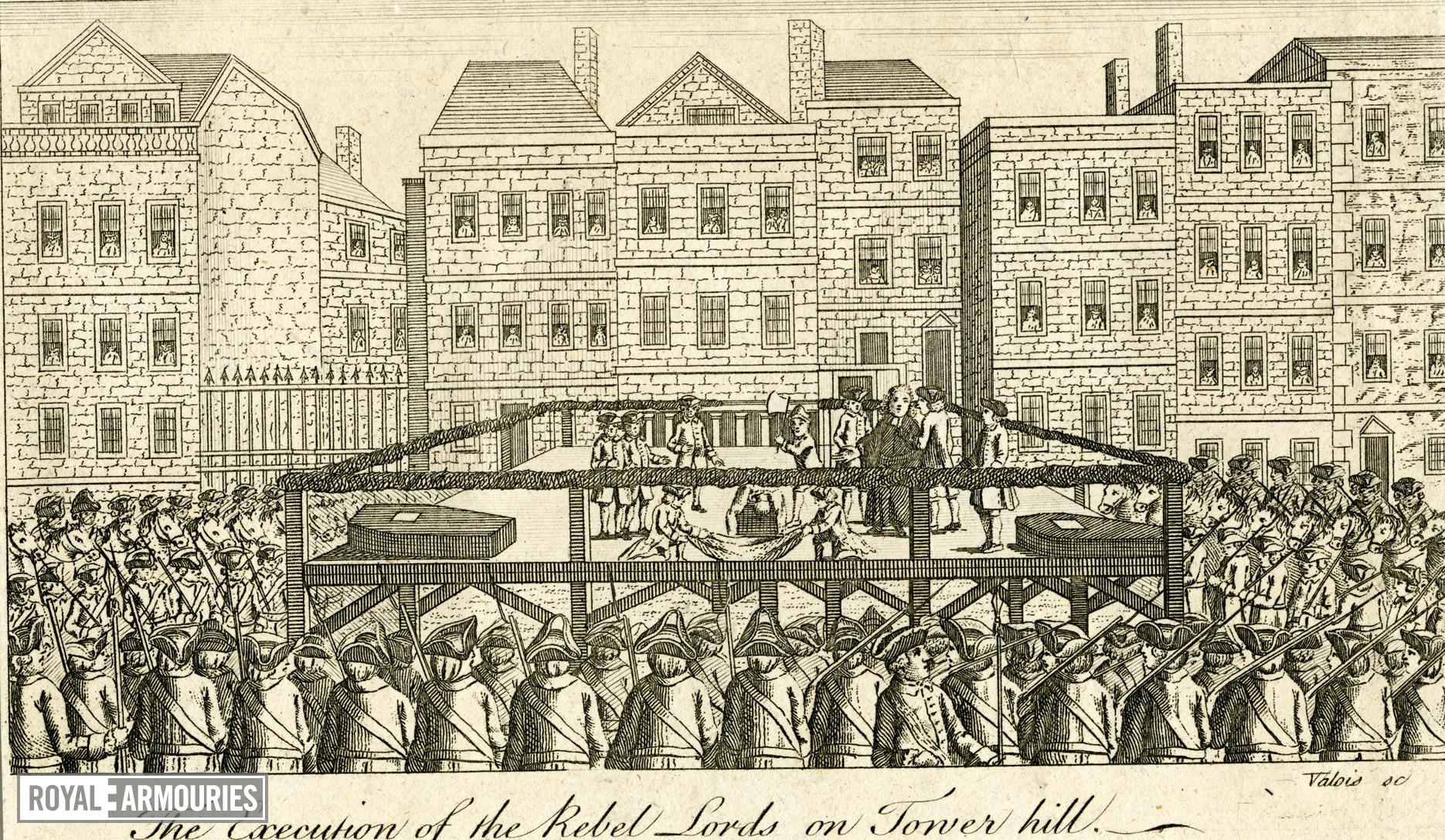 Execution of Jacobite Lords on Tower Hill