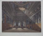 Thumbnail image of Print Coloured aquatint:  'King's Guard Chamber, Windsor Castle'