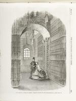 Thumbnail image of Print , entitled:  'New Armoury, Tower of London:  passage leading to the Banqueting Hall - see page 583'.