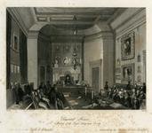 Thumbnail image of Print 'Somerset House:  Meeting of the Society of Antiquaries'.
