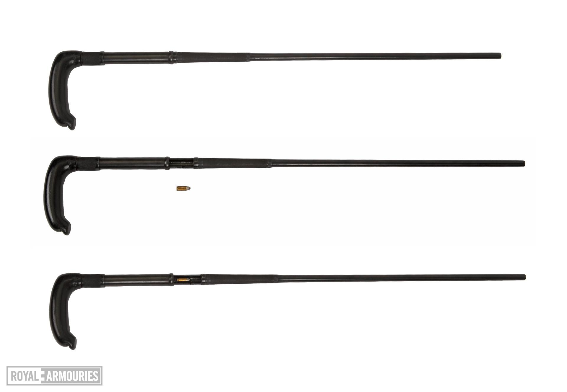 Centrefire breech-loading walking stick gun - The Khyber