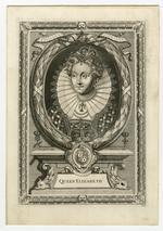 Thumbnail image of Print Portrait of Queen Elizabeth I.