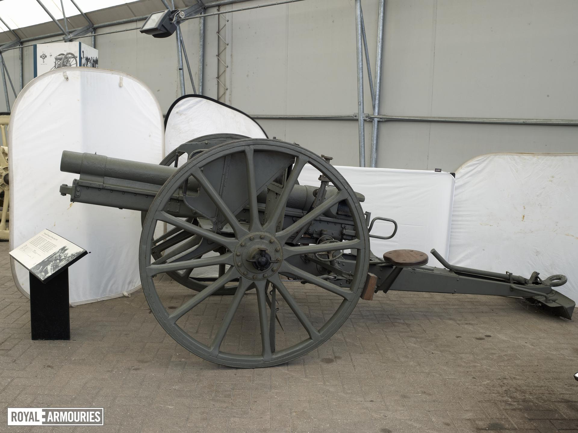 77 mm field gun and carriage - 77 mm Model 1896 RBL