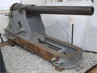 Thumbnail image of 12 pr gun and carriage - 12 pr RML Rifled muzzle-loading (RML) Made of steel _ By Armstrong