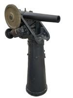 Thumbnail image of 3 in boat gun and pedestal - Whitworth type Breech-loading Made of steel