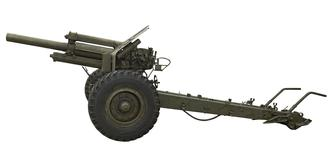 Thumbnail image of 122 mm infantry support gun - M1938 Field Gun