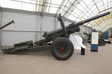 Thumbnail image of 5.5 in medium gun and carriage