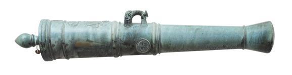 Thumbnail image of 3 pr gun Made of bronze
