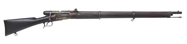 Thumbnail image of Rimfire bolt-action rifle - Vetterli Model 1869