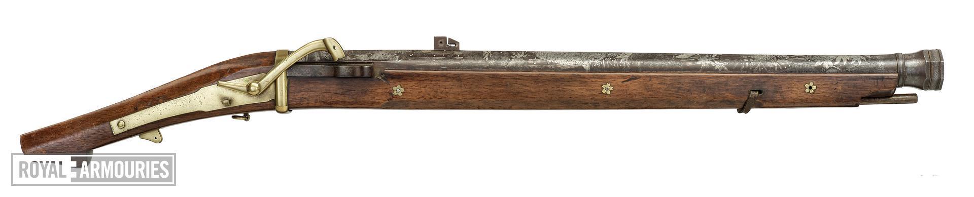 Matchlock musket (teppo)