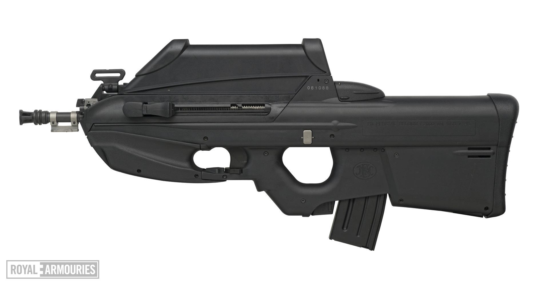 Centrefire automatic rifle - FN 2000