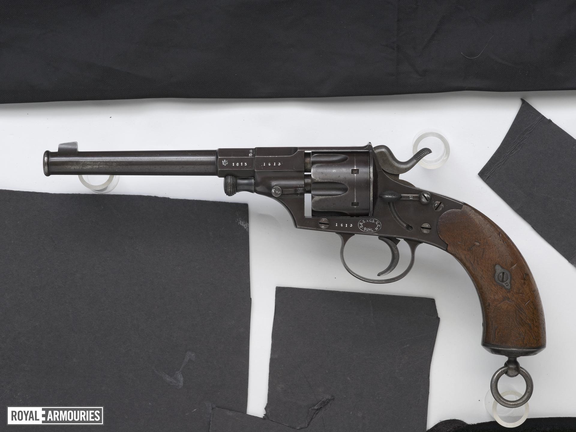 Centrefire six-shot revolver - Ordnance Model 79