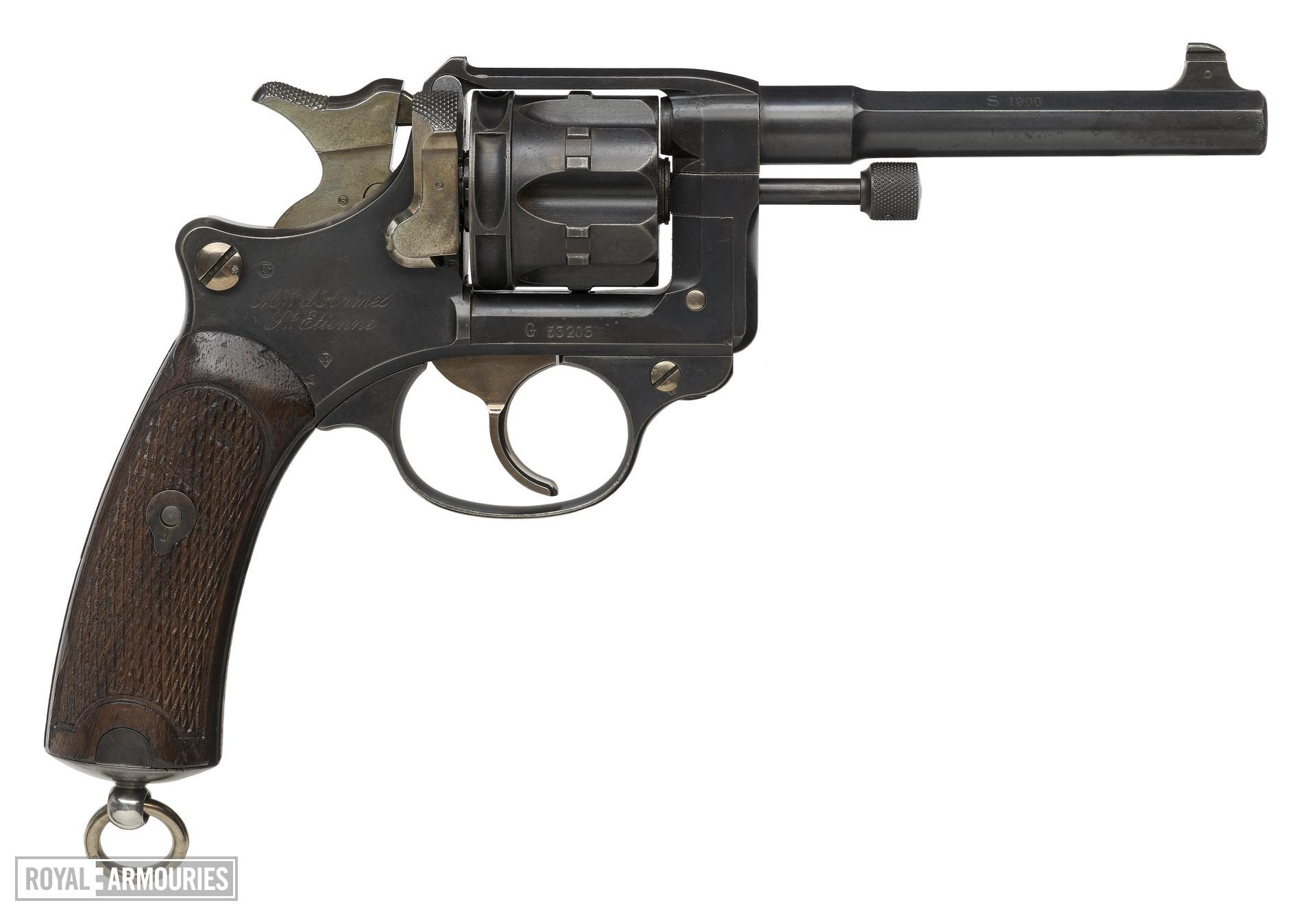Centrefire six-shot revolver - Ordnance Model 1892