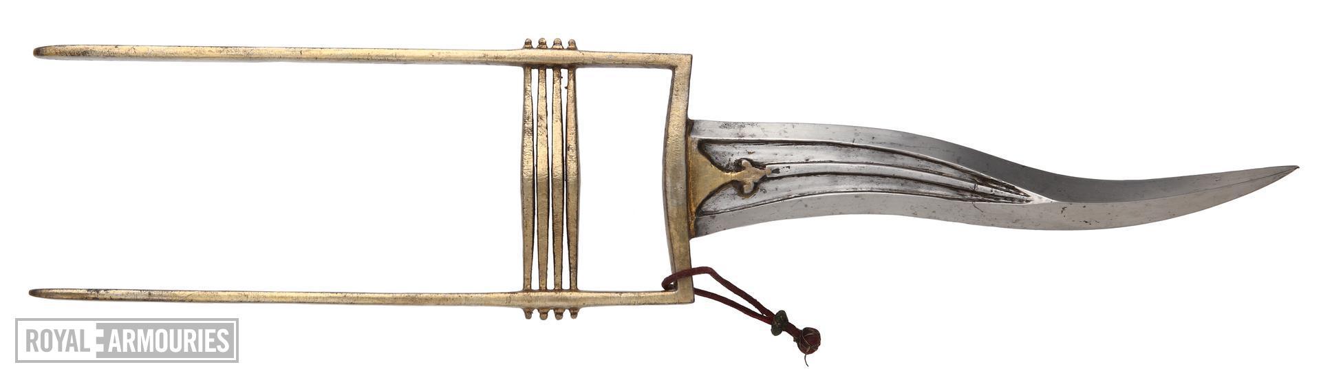 Dagger (katar) and scabbard
