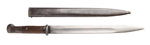 Thumbnail image of Bayonet - Model 1914 Bayonet Model 1914 for Mauser rifle.