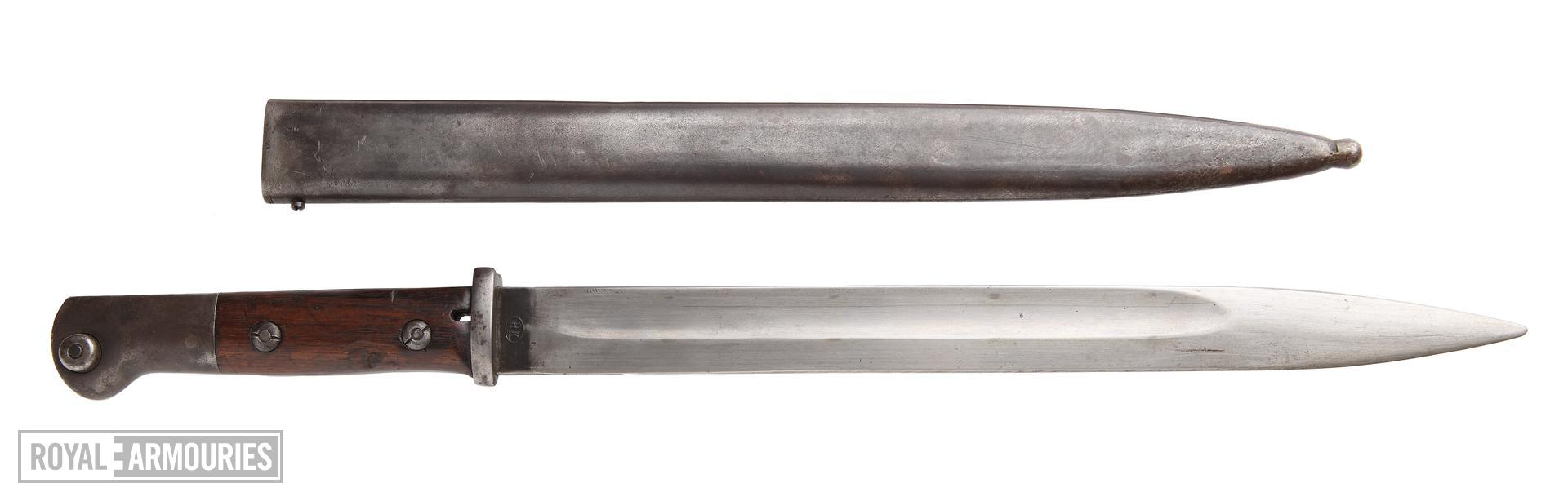 Bayonet - Model 1914 Bayonet Model 1914 for Mauser rifle.
