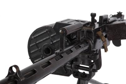 Centrefire automatic light machine gun