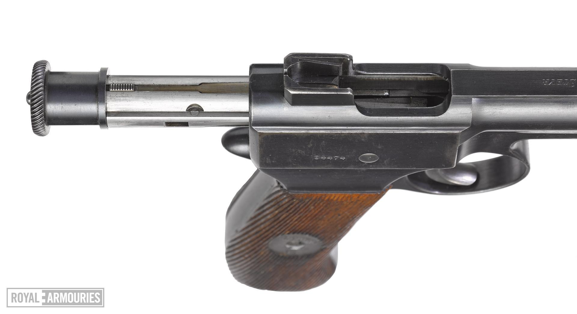 Roth Steyr Model 1907 centrefire self loading pistol, Austria
