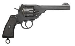 Thumbnail image of Webley Mk VI centrefire six shot revolver, Britain, about 1918