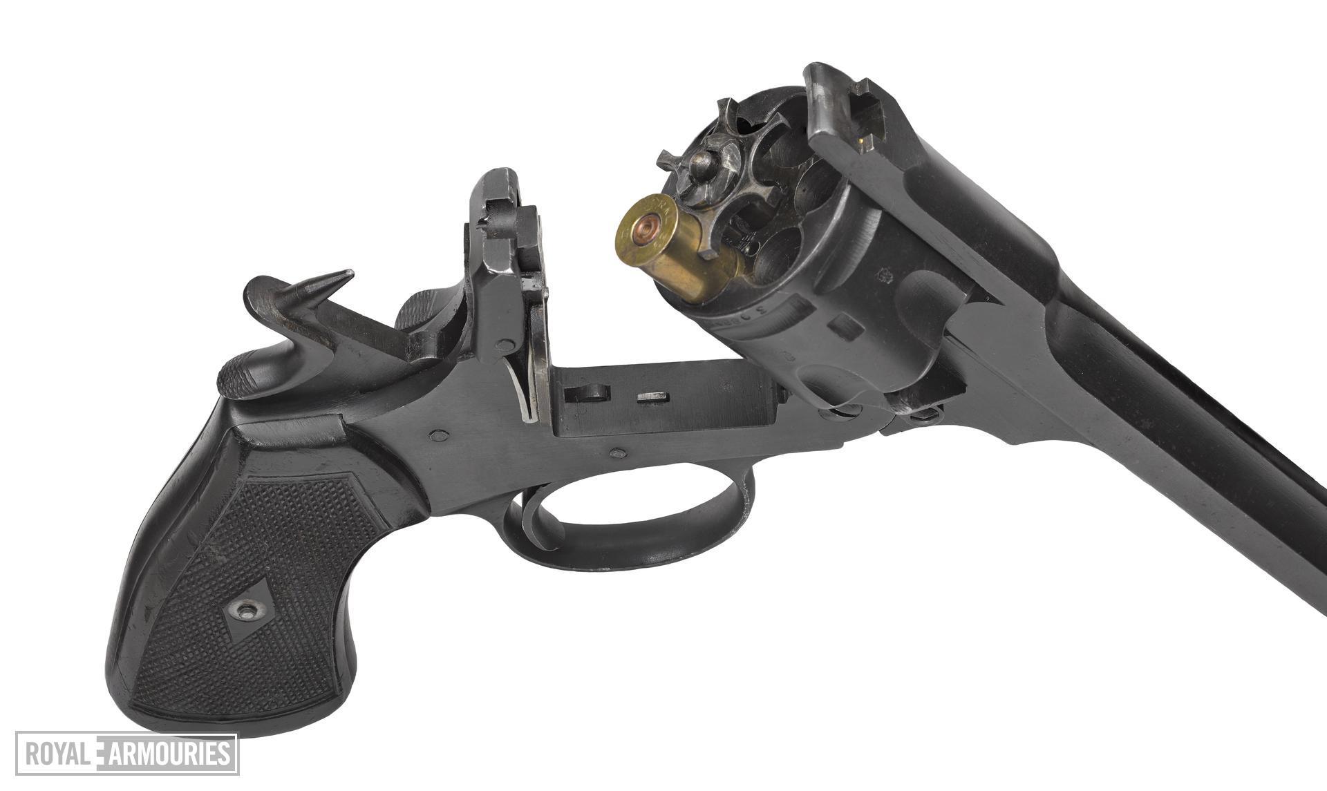 Webley Mk VI centrefire six shot revolver, Britain, about 1918
