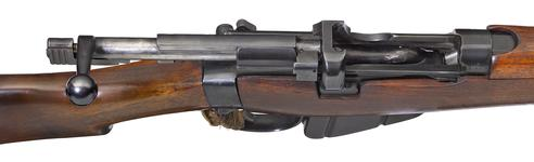 Thumbnail image of Small Magazine Lee Enfield Mk III* centrefire bolt action rifle (SMLE Mk III), with sealed pattern, Enfield, Britain, about 1907