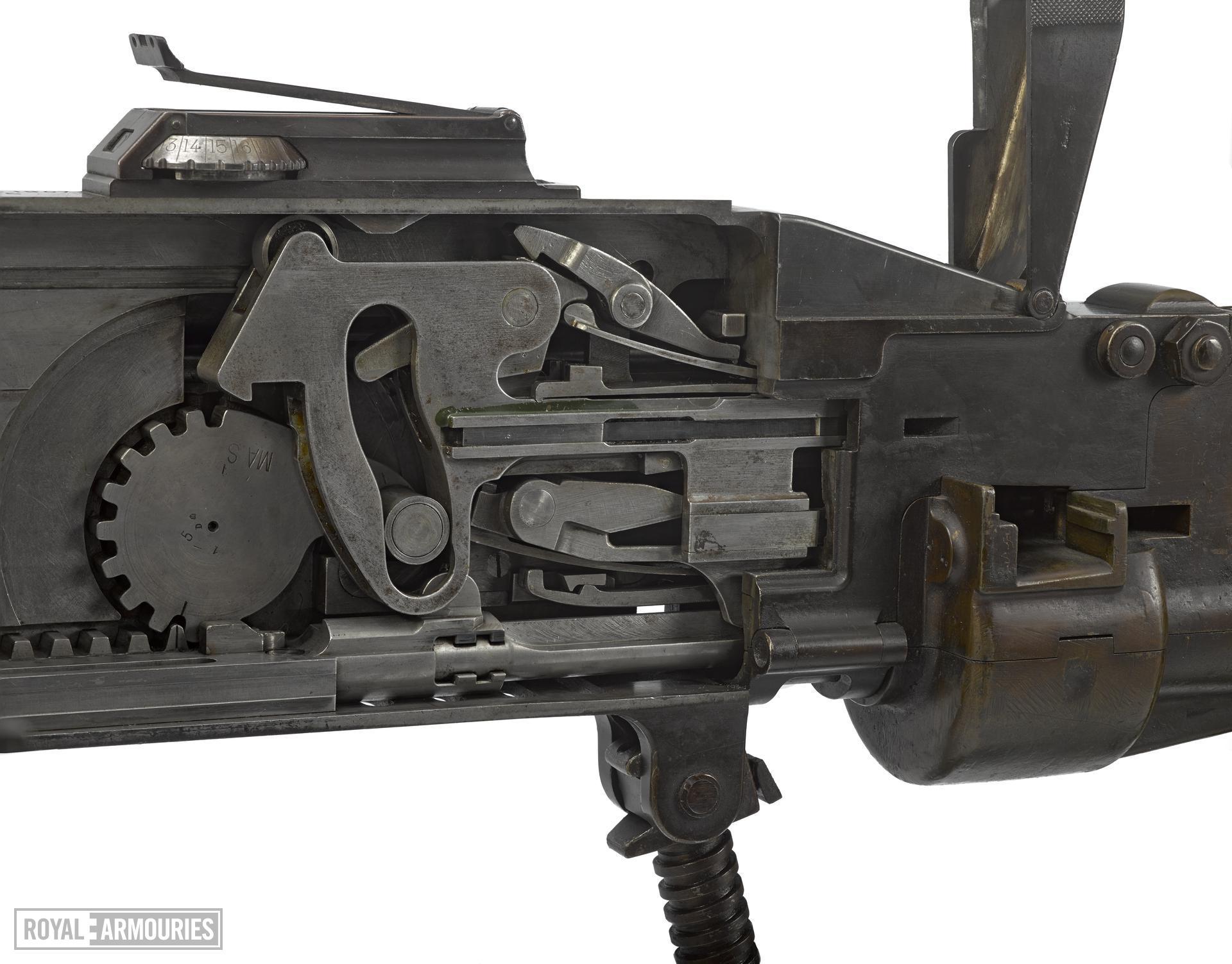 St Etienne M1907 machine gun.