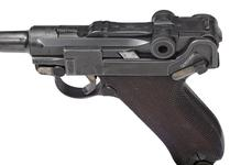 Thumbnail image of Luger model P08 centrefire self loading pistol, Germany, 1911, maufactured by Erfurt, serial No. 1