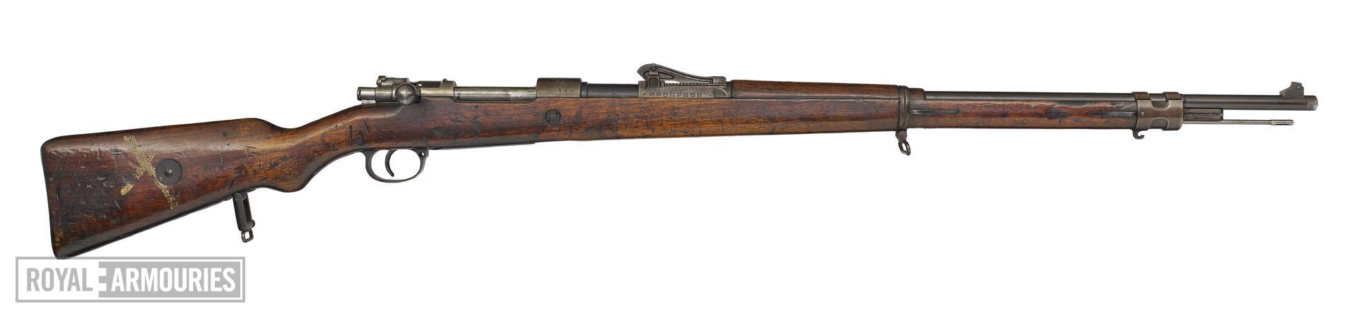 Mauser Gewehr 98 (Gew98) centrefire bolt action rifle, Germany, 1916
