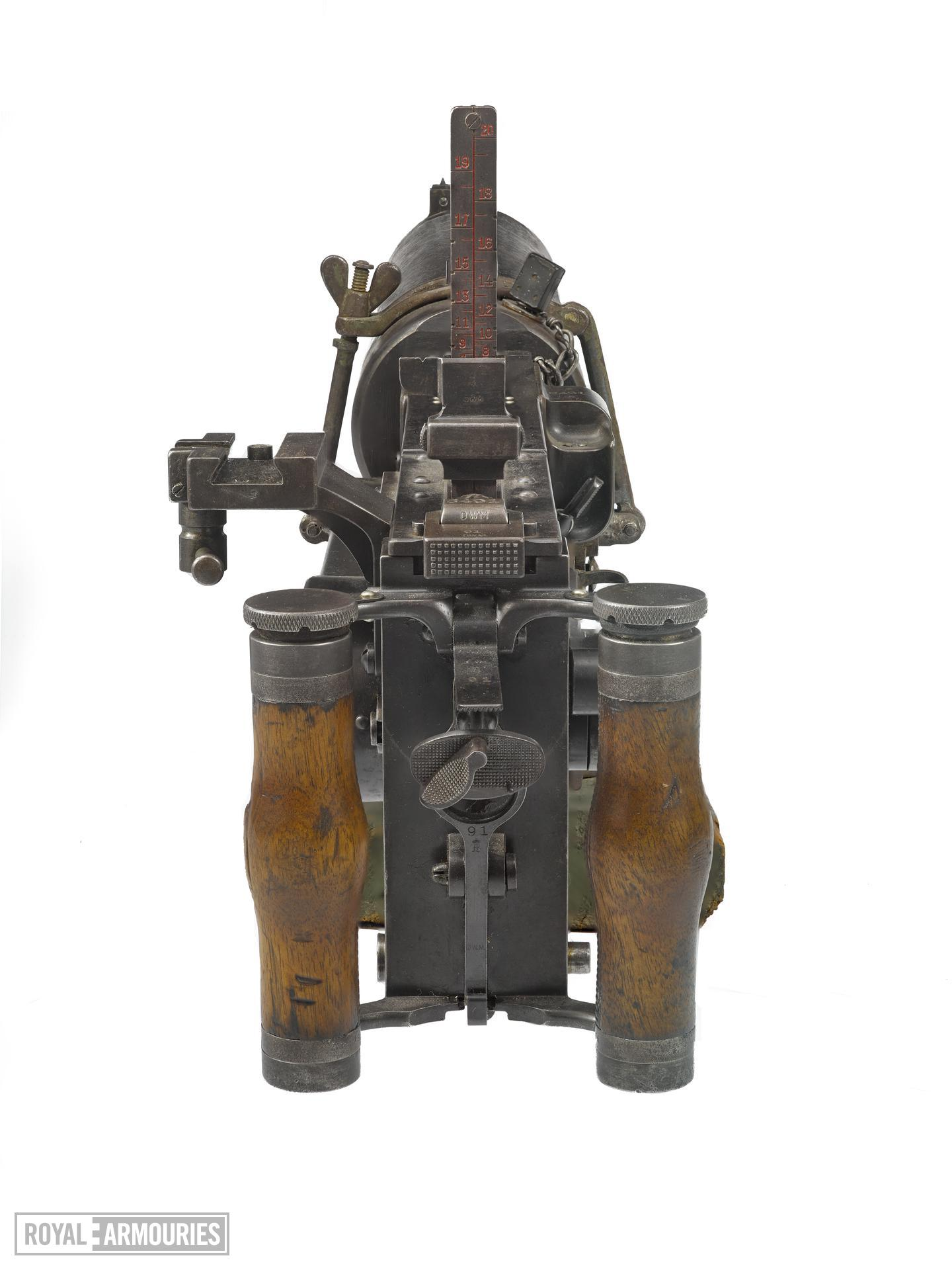 Maxim MG08 centrefire automatic machine gun , Germany