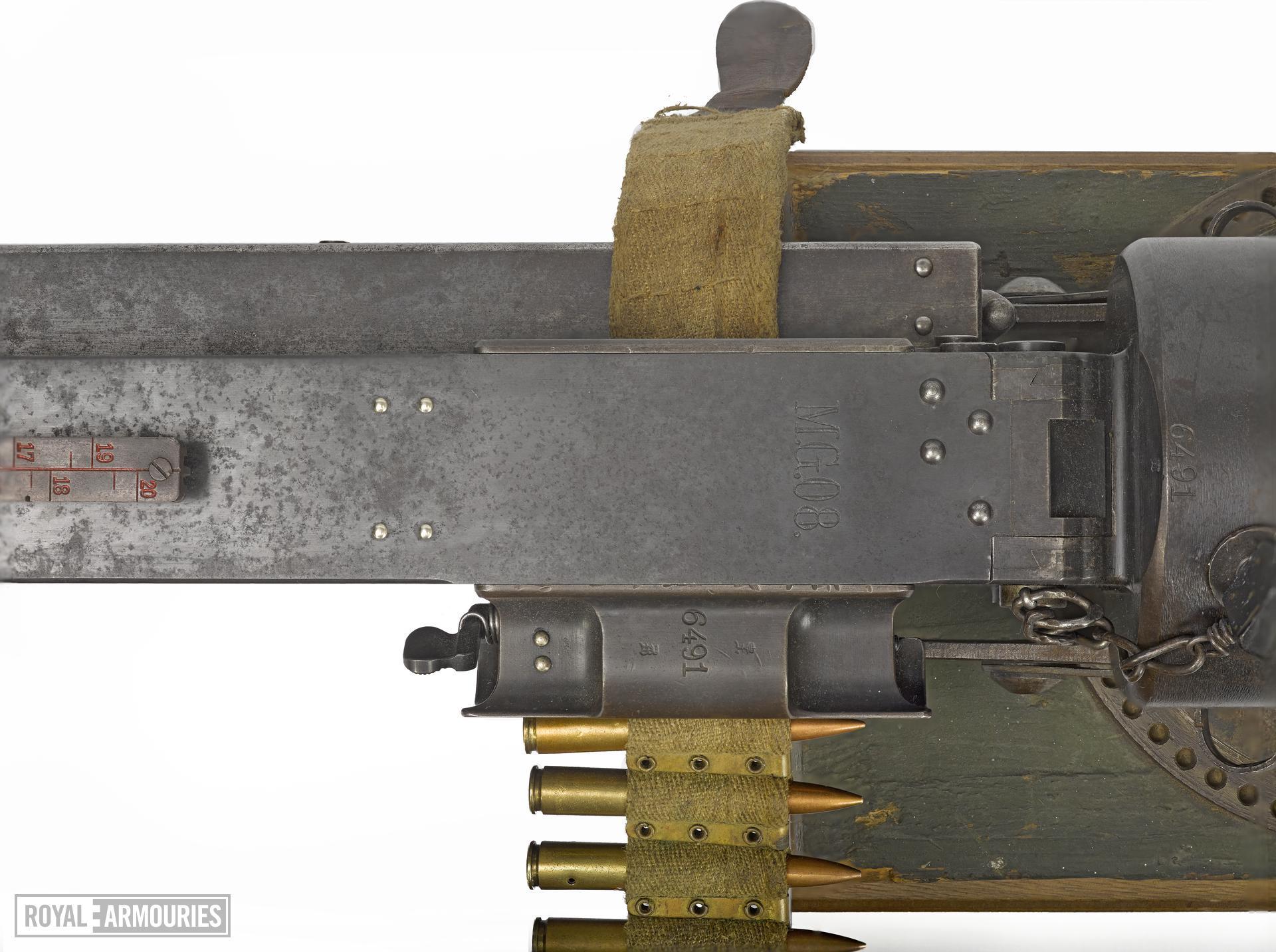 Centrefire automatic machine gun - Maxim MG08