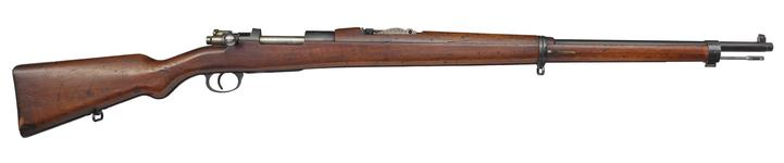 Thumbnail image of Mauser Model 1903 centrefire bolt action rifle, Turkey, about 1903