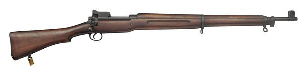 Thumbnail image of M1917 centrefire bolt action rifle , American, about 1917, made at Winchester Repeating Arms Factory