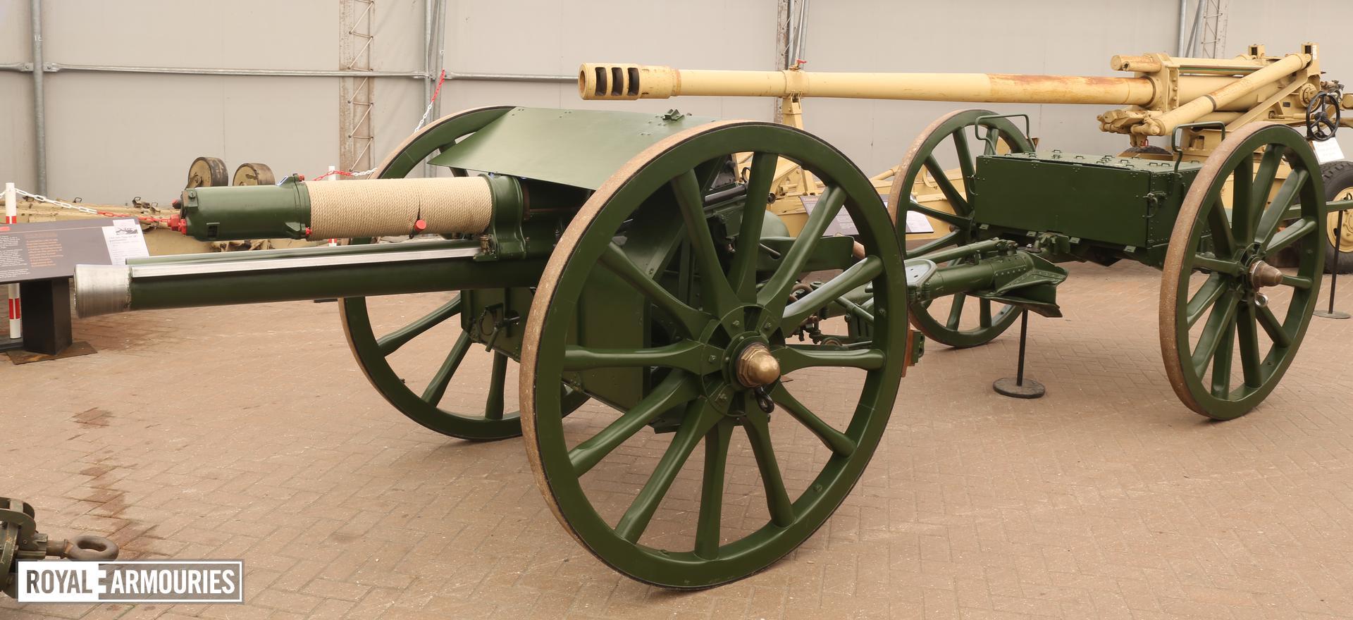 Limber - Limber for 18 pounder field gun