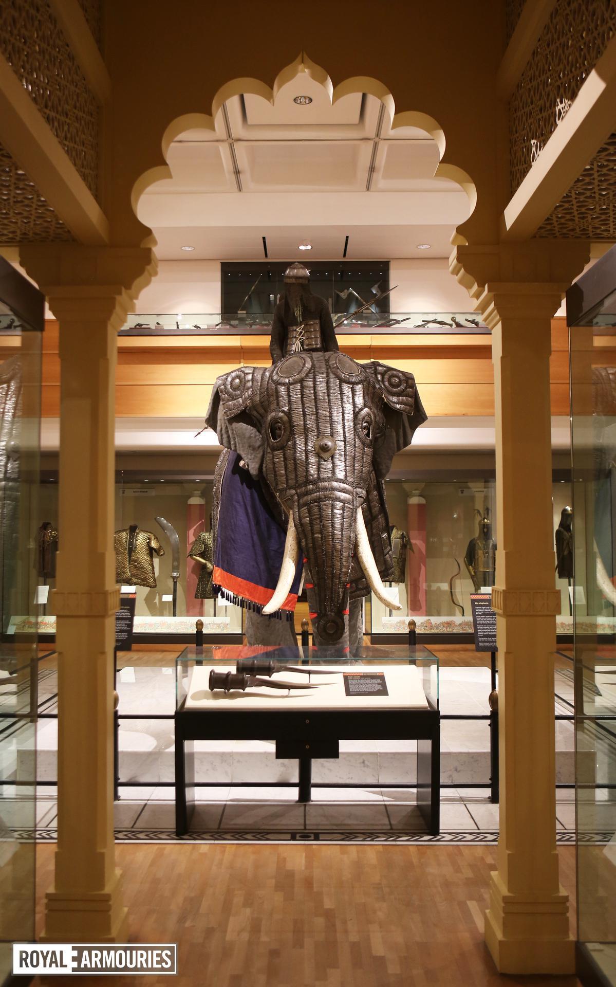 Elephant armour (bargustavan-i-pil), India, about 1600 XXVIA.102