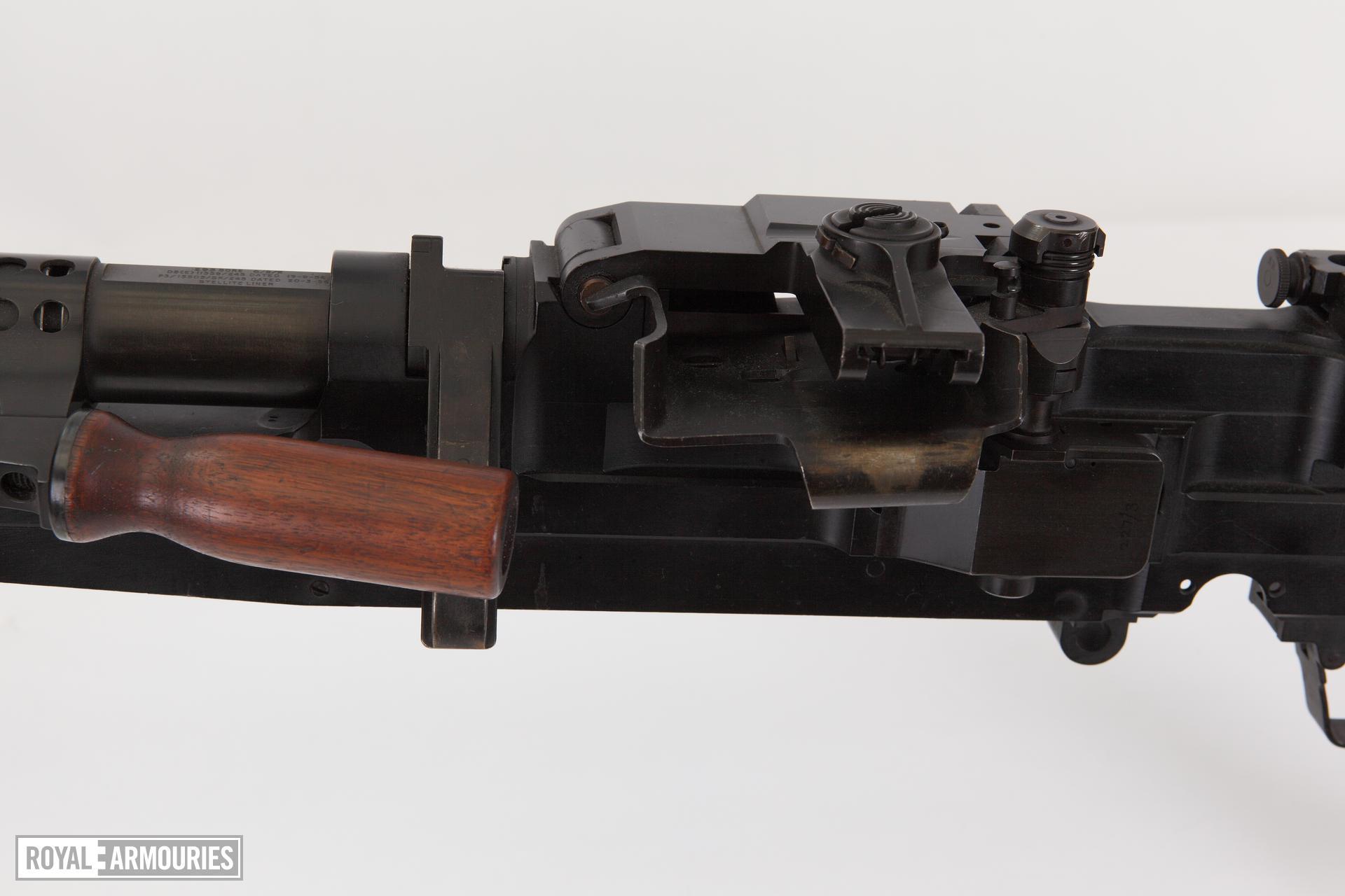 Centrefire automatic machine gun - SFMG Experimental Turpin Prototype