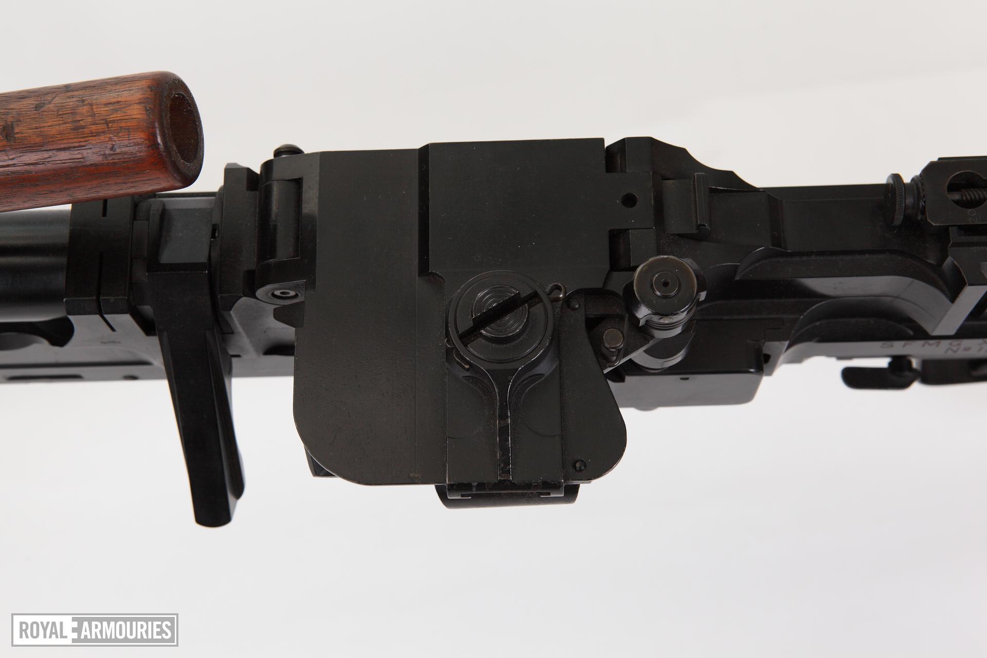 Centrefire automatic machine gun - SFMG Turpin X11E4 Experimental