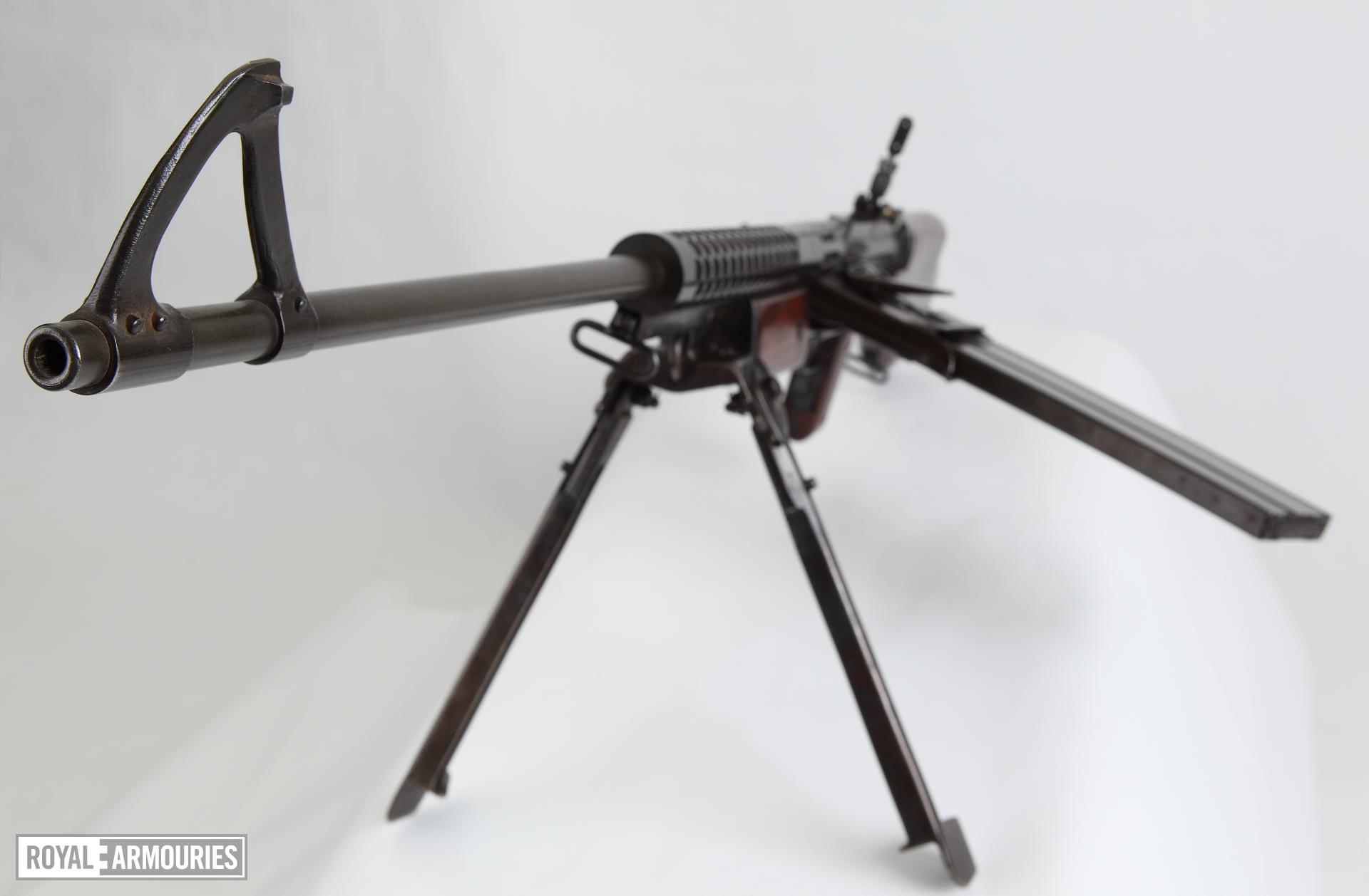 Centrefire automatic light machine gun - Johnson Model 1941