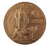 Thumbnail image of World War One Memorial Plaque to Lance Sergeant Thomas Queenan, 1st West Yorkshie Regiment (XVIII.461)