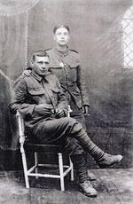 Thumbnail image of Lance Sergeant Thomas Queenan and colleague, 1st West Yorkshire regiment. (XVIII.461)