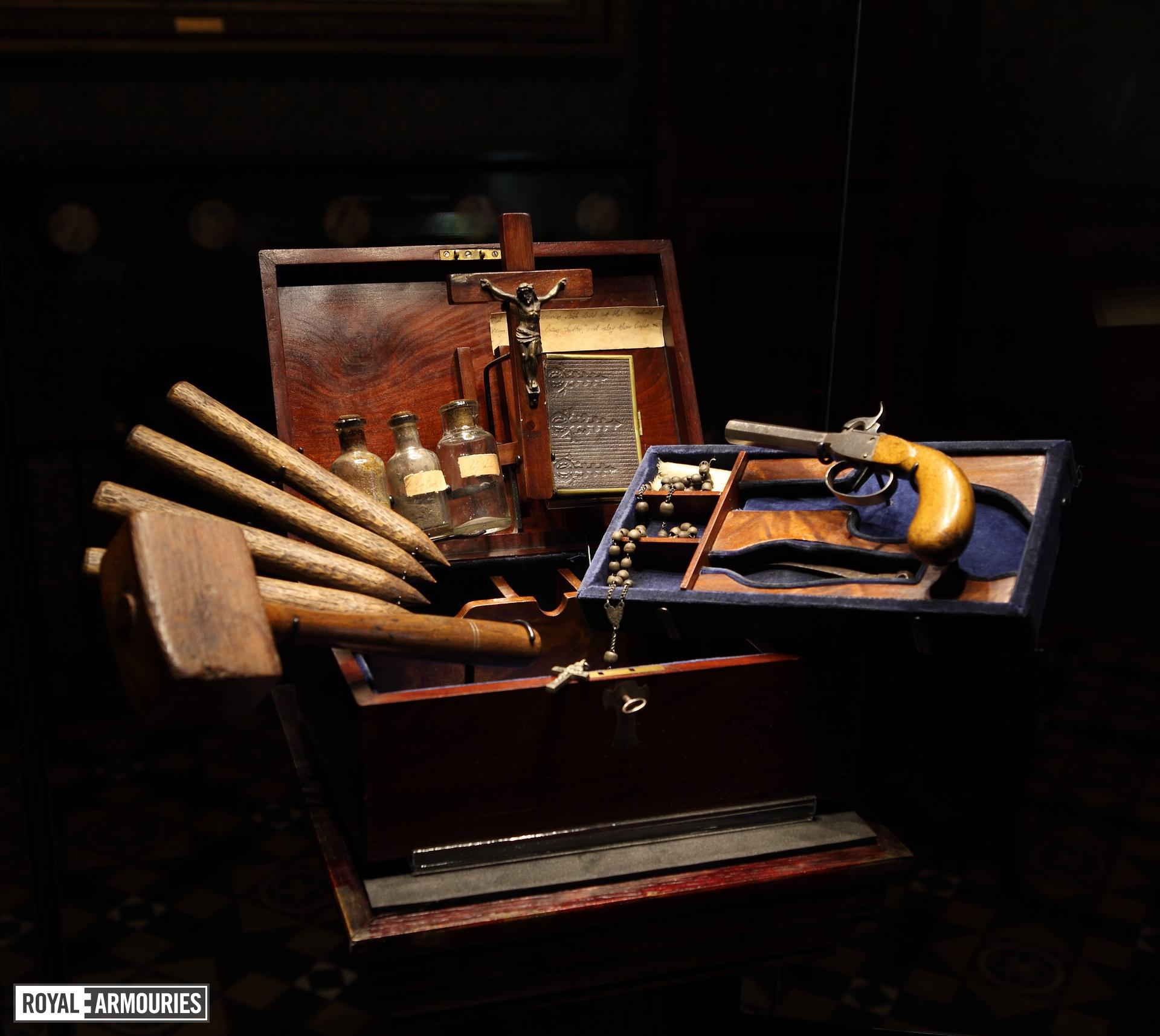 Cased set - Vampire killing kit