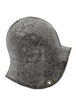 Thumbnail image of Sallet or kettle hat, probably produced for export to Western Europe. Italian, possibly Milan, about 1450 (IV.4)