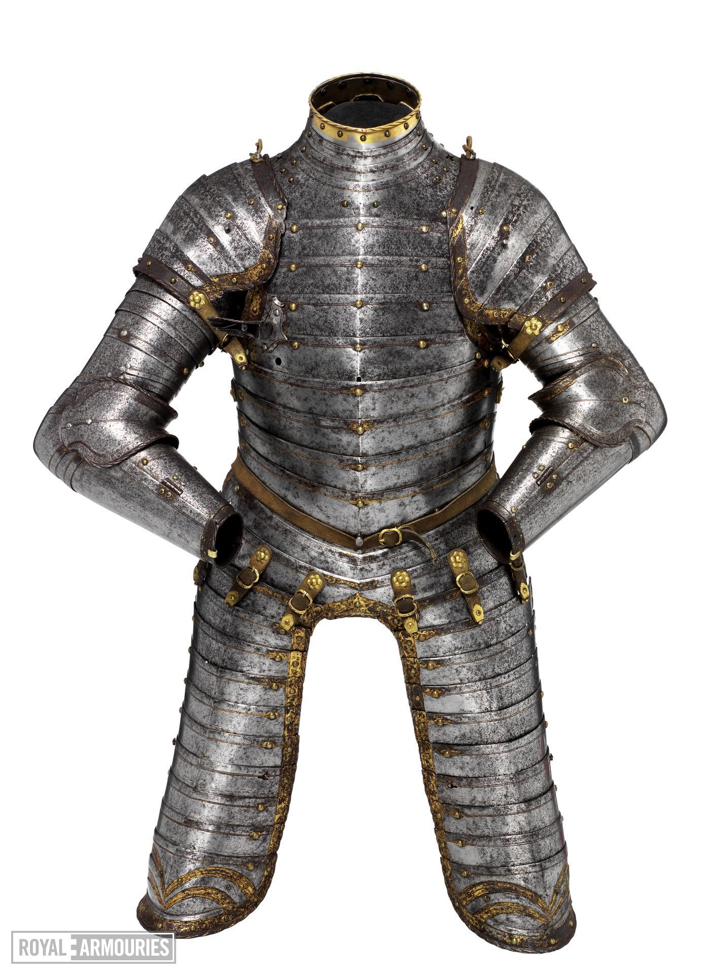 Three quarter armour for a boy, possibly of King Edward VI. English, Greenwich, about 1550 (II.178)